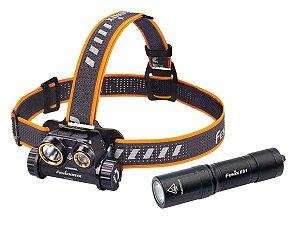 Lanterna de Cabeça Fenix HM65R - 1400 Lumens + E01 V2.0