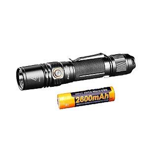 Kit Lanterna PD35V2.0 + Bateria 2600mAh
