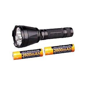 Kit Lanterna TK32 1000 Lumens + 2x Baterias USB 2600mAh