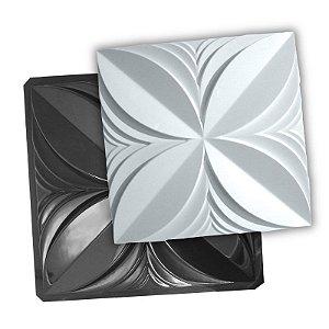 BLACK 100 - Forma ABS 2mm Gesso/Cimento - Pétalas Premium 40 X 40 cm