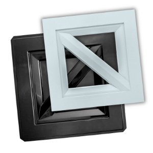 Forma Dupla Face Cobogó 40x40cm - modelo Frame - Ref.514