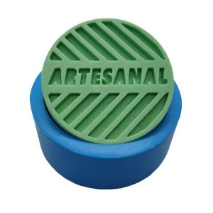 MDL 02 - Molde de silicone p/ sabonete - Artesanal