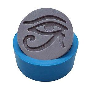 MDL 09 - Molde de silicone p/ sabonete - Olho de Hórus