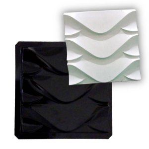 BLACK 39 - Forma ABS 2mm Gesso/Cimento - Dragon 38,5 x 38,5 cm