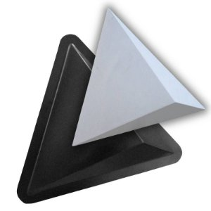 BLACK 53 - Forma ABS 2mm Gesso/Cimento - Star 41 X 35,5 cm