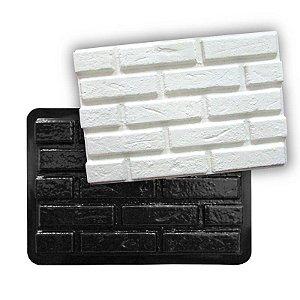 BLACK 62 - Forma ABS 2mm Gesso/Cimento - Tijolinho Rústico 44,5 X 30 cm