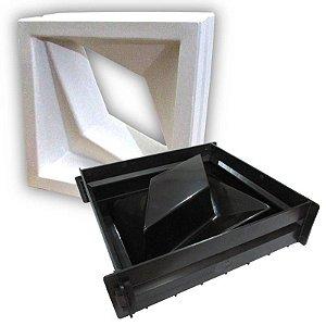 Forma para cobogó completa - modelo Estrelar - Ref.504