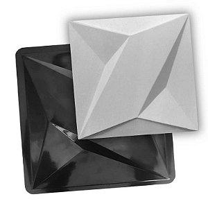 BLACK 70 - Forma ABS 2mm Gesso/Cimento - Thor 40 X 40