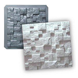MAX 01 - Forma 3d PET 1,5mm p/ gesso - Mosaico Natural 28 X 28