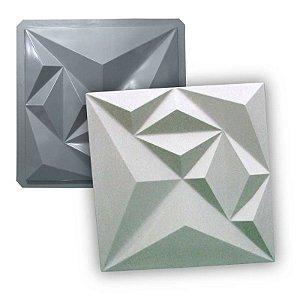 MAX 34 - Forma 3d PET 1,5mm p/ gesso - Diamond 39 X 39