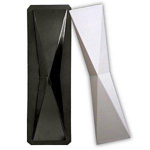 BLACK 402 - Forma ABS 2mm Gesso/Cimento - 60 X 15 CM