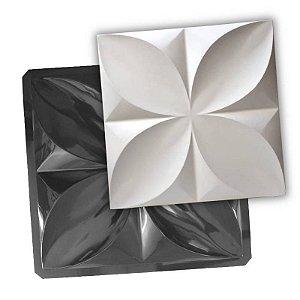 Platinum 406 - Forma PET 2mm Gesso - Pétalas 50 X 50