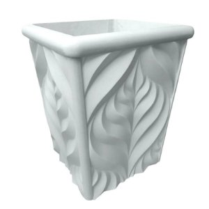 ART 804 - Forma Lateral  Vaso Garden ABS 1.5 mm 33 x 43 cm
