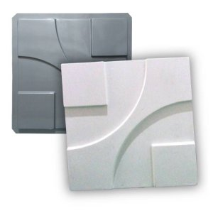 PRO 19 - Forma ABS 1.5 mm Gesso/Cimento - Argo 38,5 X 38,5 cm