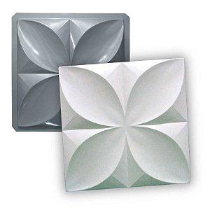 PRO 33 - Forma ABS 1.5 mm Gesso/Cimento - Pétalas Slim 39 X 39 cm