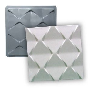 PRO 43 - Forma ABS 1.5 mm Gesso/Cimento - Ocean 38,5 X 38,5 cm