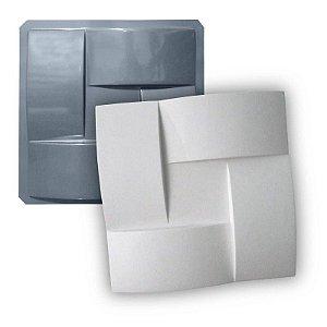PRO 72 - Forma ABS 1.5 mm Gesso/Cimento - Trançadão 40 x 40 cm