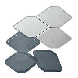 PRO 85 - Forma ABS 1.5 mm Gesso/Cimento - 3 / 31,5 x 18,5 cm