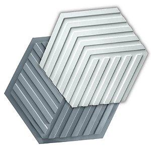 PRO 90 - Forma ABS 1.5 mm Gesso/Cimento - Labirinto 44 x 38 cm