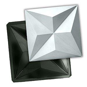 BLACK 89 - Forma ABS 2mm Gesso/Cimento - Culinas 40 x 40 cm