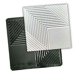 BLACK 421 - Forma ABS 2mm Gesso/Cimento - Moscou 50x50 cm