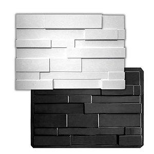 BLACK 423 - Forma ABS 2mm Gesso/Cimento - Taqueado 60 X 42 cm