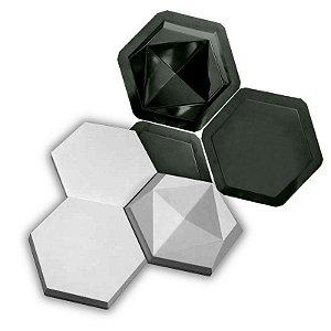 BLACK 99 - Kit Formas ABS 2mm Gesso/Cimento - Rubi - 3 de 19,5 x 22,5 cm