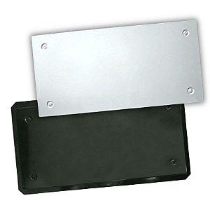 BLACK 424 - Forma ABS 2mm Gesso/Cimento - Corten 60 X 30 CM