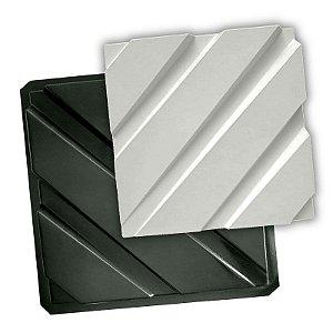 BLACK 98 - Forma ABS 2mm Gesso/Cimento - Trama 40 x 40 cm