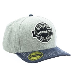 Boné Copenhagen Original Brand Light Grey