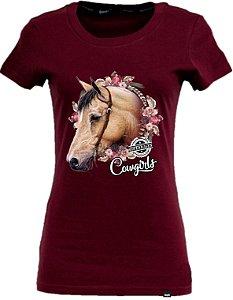 CAMISETA T-SHIRT HORSE COWGIRLS COPENHAGEN
