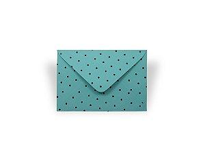 Envelopes 72 x 108 mm - Aruba Decor Bolinhas Pretas - Lado Externo