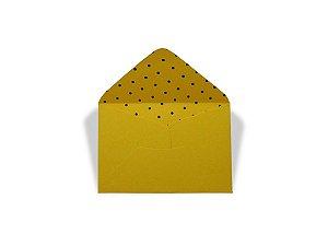 Envelopes 72 x 108 mm - Rio de Janeiro Decor Bolinhas Pretas - Lado Interno