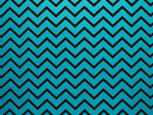 Decor Chevron Blue - Preto