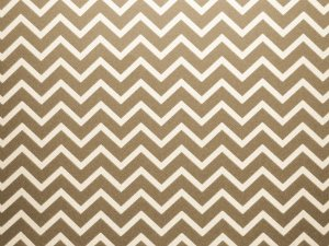 Decor Chevron Kraft - Branco