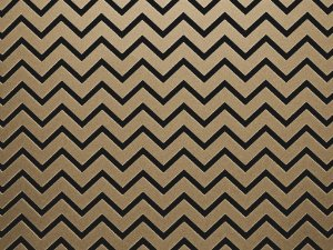 Decor Chevron Kraft - Preto