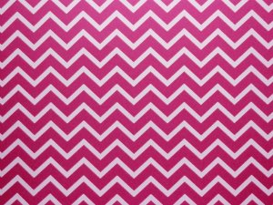 Decor Chevron Pink - Branco