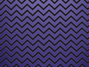 Decor Chevron Violet - Preto