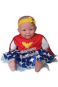 Fantasia de Mulher Maravilha Baby