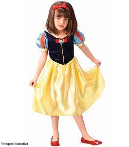 Fantasia Princesa Branca de Neve Clássica - Regina Festas - Disney