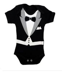 Body Poderoso Chefinho Baby - Pronta Entrega