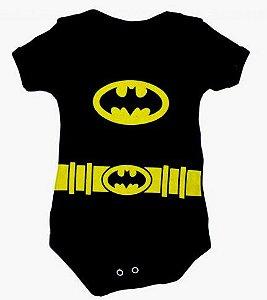 Body Batman Bebê - pronta entrega