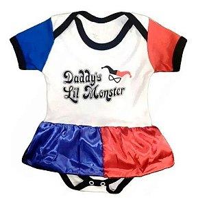 Body Arlequina Baby - Pronta Entrega