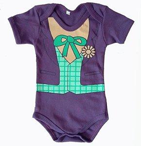 Body Coringa Bebê - Pronta Entrega