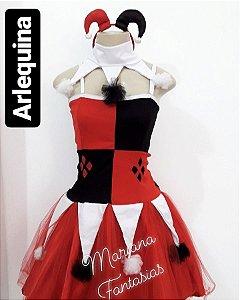 Fantasia Arlequina Bicolor para Aluguel