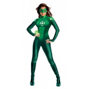 Fantasia Lanterna Verde Importada Original Filme Lantern Green