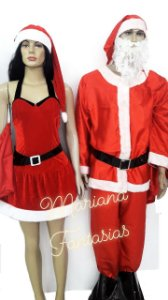 Papai Noel e Mamãe Noel para aluguel