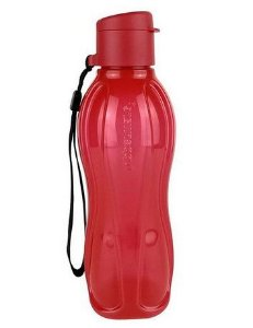 Garrafa Tupperware Eco Tupper Plus 500ml Vermelha