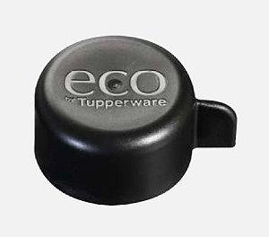 Tupperware Tampa de Rosca Preta