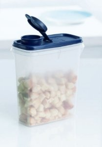 Tupperware Porta Cereais 850 ml Azul